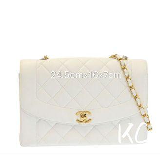 Chanel Vintage Bag white Dianna