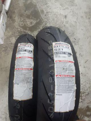 S21 for super 4 ,1 Set tyre.brand new stock