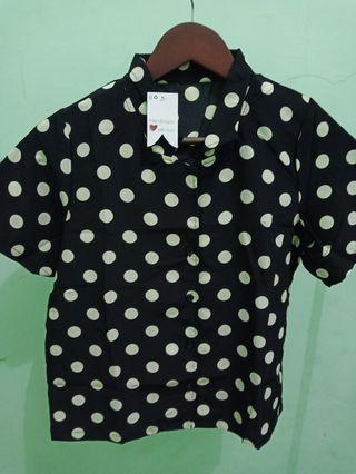 Polka Short Blouse