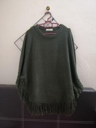 Poncho style top
