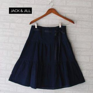Jack and Jill Denim Ribbon skirt