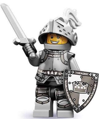 Lego 71000 Series 9 Minifigure Heroic Knight (Sealed)