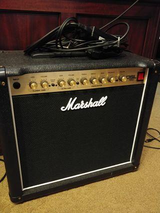 🚚 Marshall DSL 15C power valve amplifier