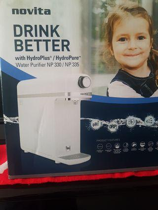 🚚 Novita Water Purifier NP330 complete with hydroplus filters