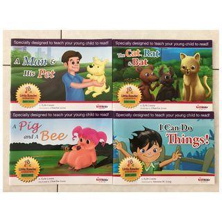 Little Reader Storybook Series (set of 4)