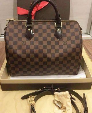 Lv speedy bandouliere 30 Authentic markdown