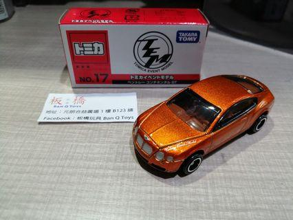 Tomica event model bentley continental gt