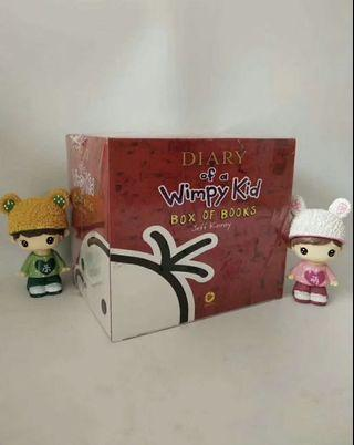 Dairy of a wimpy kid box set