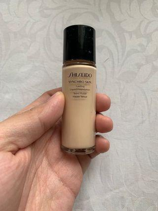 Shiseido Synchro Lasting Liquid Foundation Neutral 1