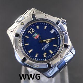 Pre Owned Tag Heuer 2000 Classic Quartz WK1113.BA0311