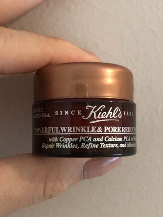Kiehl's wrinkle and pores reducing cream