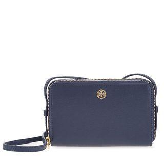 Tory Burch double parker zip bag purse