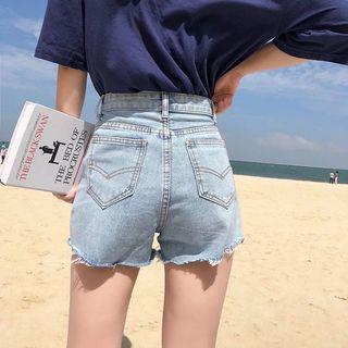 sale!! 高腰牛仔短褲 熱褲 high waist denim shorts hot
