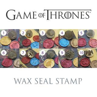 🚚 Game Of Thrones Range Wax Seal Stamp (Head Only)