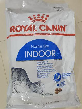 🔶😻SOLD OUT😻🔶FREE DELIVERY🔶Royal Canin/RC Indoor 27 10kg 🔶
