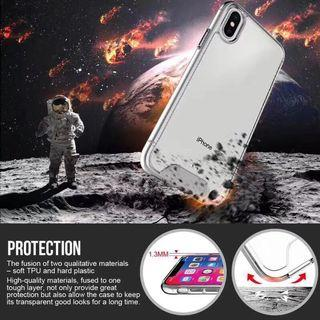 Iphone Clear Case (Anti Shock)