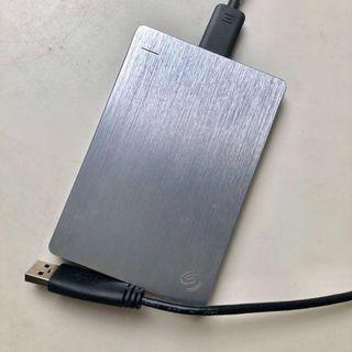 2TB Seagate Backup Plus Slim (Silver)