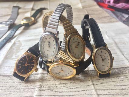 Jam Tangan Wanita Vintage Timex Brand USA