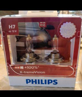 H7 Philips Xtreme Vision Bulb Authentic
