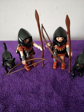 Playmobil 5408 Huntsman With Wolf