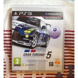 Gran Turismo 5 2013 Academy Edition GT5 PS3 game