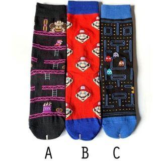 T92 Super Mario Socks