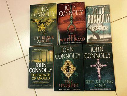 🚚 John Connolly Crime Books