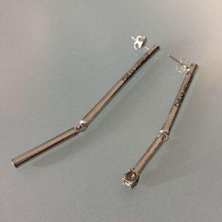 Cheap Monday assymetrical earrings