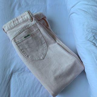 Baby Pink Rolla's denim jeans