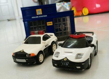 Honda NSX and Nissan Skyline R32 Japan Police Car
