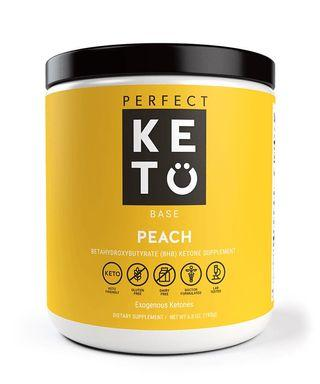 Perfect keto exogenous ketone peach ketogenic diet