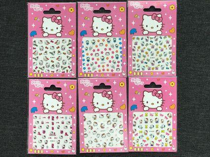 Children nail stickers