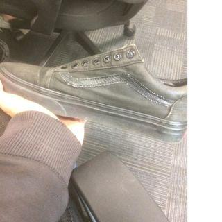 jual sepatu vans black