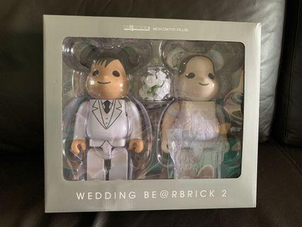 Greetings Marriage 2 Wedding 400% Bearbrick #ENDGAMEyourEXCESS