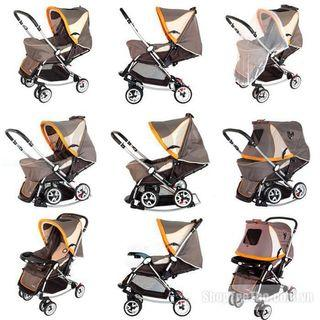 Good baby stroller can be use as swing also