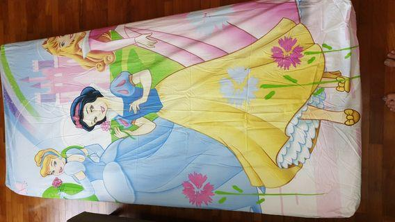 Single fitted bedsheet (Disney Princess)#ENDGAMEyourEXCESS