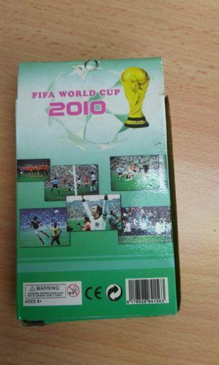 Vintage Football player world cup 2010 card/kad