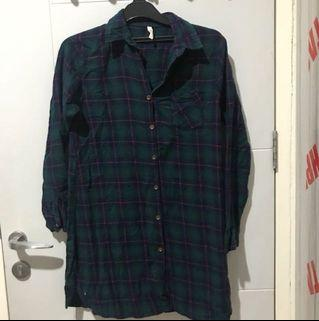 Flannel Dress Shirt