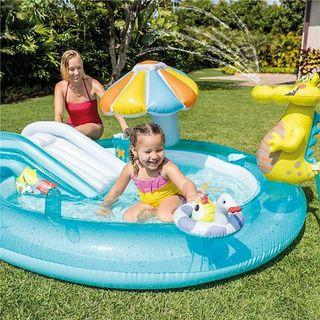 FREE DELIVERY Inflatable Pool Slide Spray