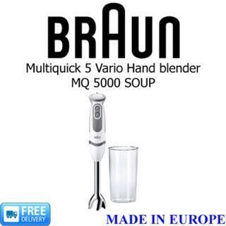 BRAUN - Multiquick 5 Vario Hand Blender, MQ 5000 SOUP