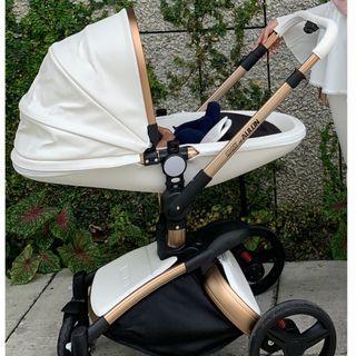 Luxury White Stroller (Like New)