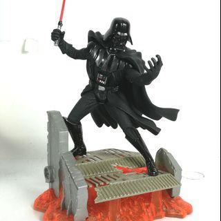 Star wars darth vader cold cast statue