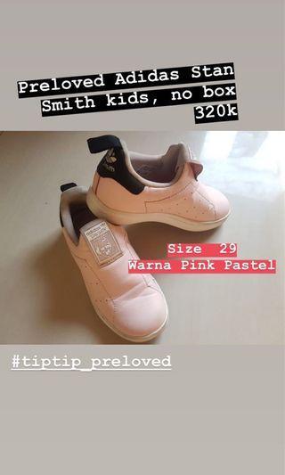 Sepatu Anak Adidas Stan Smith