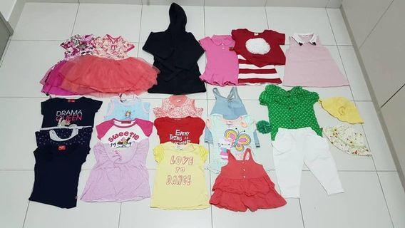 Bundle Sale Girl Clothes [3-4yr][Outdoor Wear] [23s]🌈Negotiable🌈