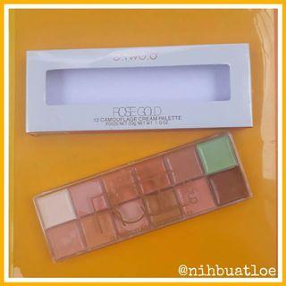 O.TWO.O 12 COLORS CONCEALER PERFECT CAMOUFLAGE FACE MAKE UP