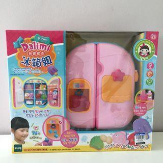 Baby Doll Refrigerator Toy Set