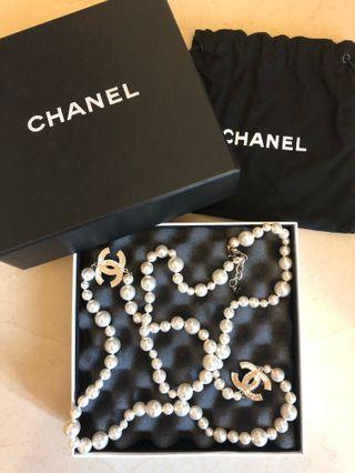 全新 CHANEL 珍珠頸鏈 Pearl Necklace (100% Authentic)
