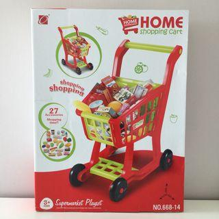 Baby Home Groceries Shopping Trolley Toy