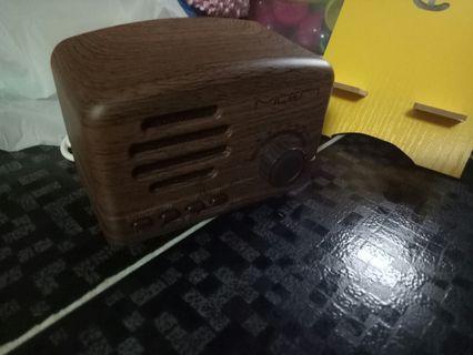 復古造型藍牙音箱