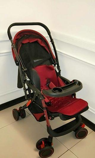 嬰兒推車 可躺 可坐 正推 反推 行動自如
